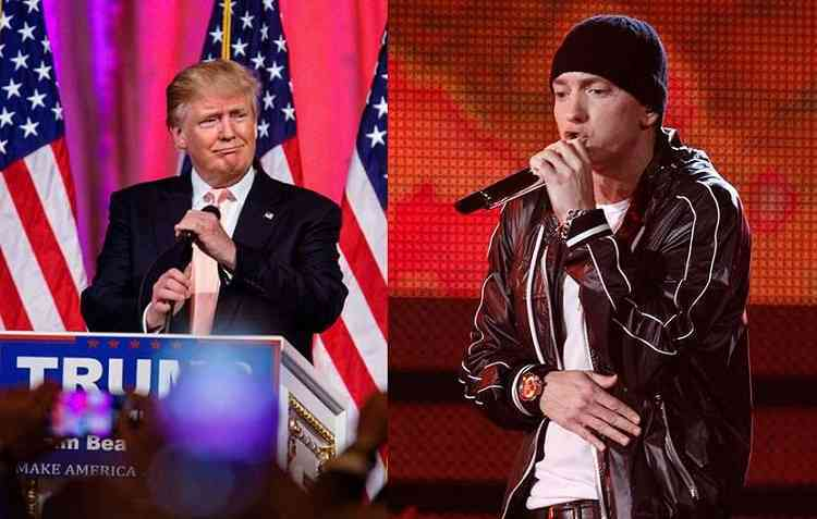 """Eminem Vs Donald Trump, l'attacco al candidato repubblicano in """"Campaign Speech"""""""