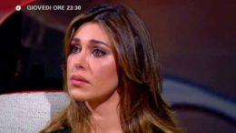 """Belen Rodriguez, tutta la verità da Costanzo: """"È stato Stefano a lasciarmi, ho fatto tutto per lui"""""""