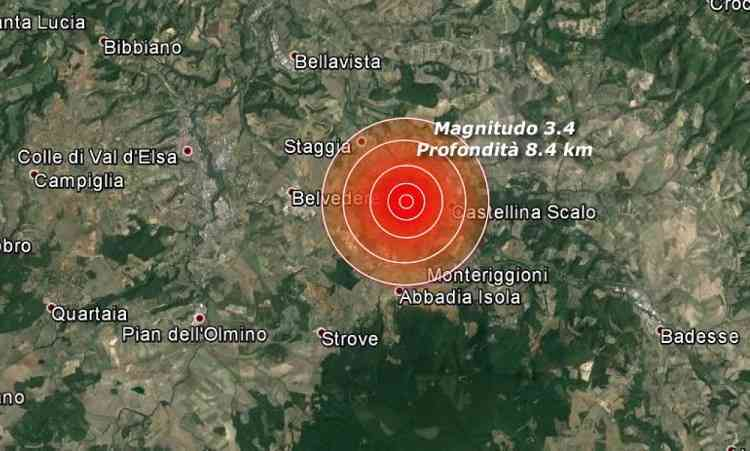 """Toscana: terremoto sentito anche a Firenze. Direttore uffizi: """"Non è successo nulla"""""""